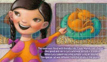 Mandy and Blucy, Blucy: The Blue Cat Review, photo