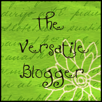 A LOVELY BLOG AND VERSATILE BLOG AWARDS