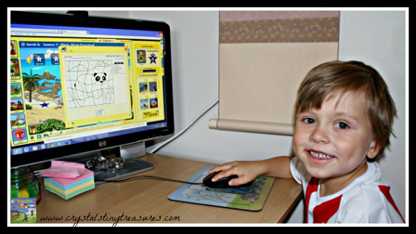 ABCmouse.com in action at Crystal's Tiny Treasures