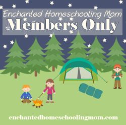 Enchanted Homeschool Mom Member's Only website Review