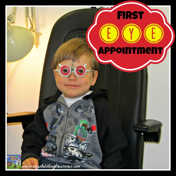 Tristan's First Optometrist Appointment