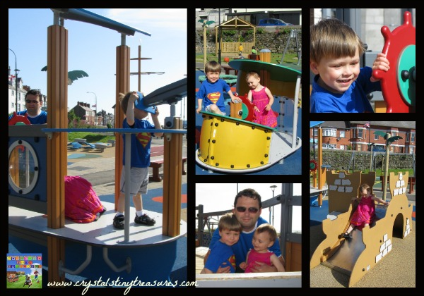 Pirate activities, Pirate park, summer fun for pre-schoolers, daycare ideas, photo