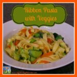 Ribbon Pasta with Veggies
