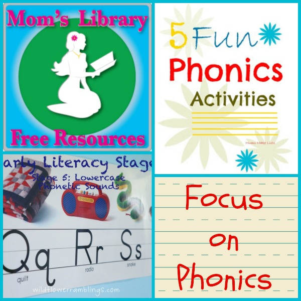 Focus on Phonics with Mom's Library