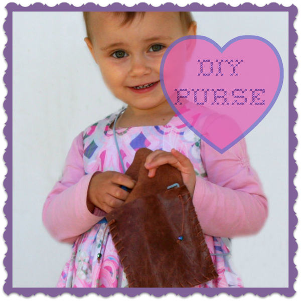 DIY Faux leather purse by Crystal's Tiny Treaures