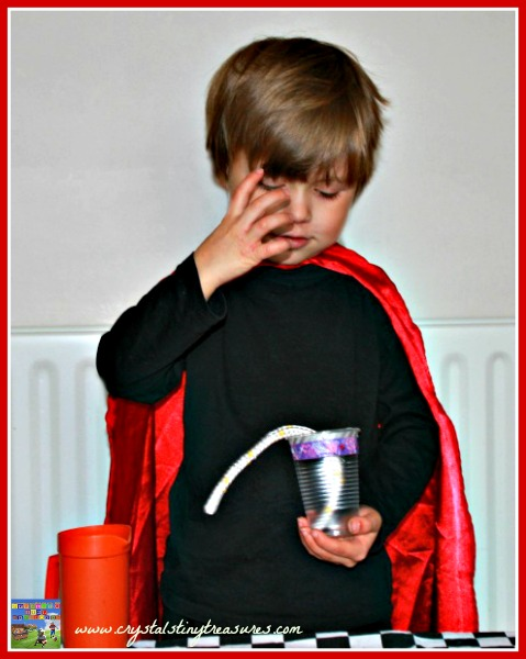 Genie from Atlantis, kids performing magic, babysitting tricks, kids with talent, photo