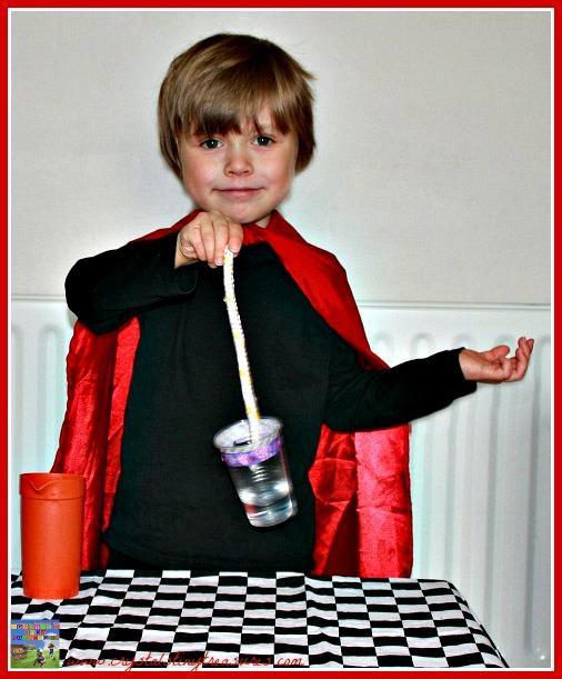 learning magic, teaching kids magic, photo