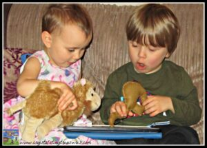 Reading Humpfree The Humpless Camel, Crystal's Tiny Treasures, e-books for preschoolers, fun books for kids, photo