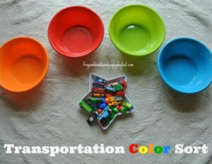 transportation color sorting