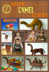 7 Creative Camel Activities for kids