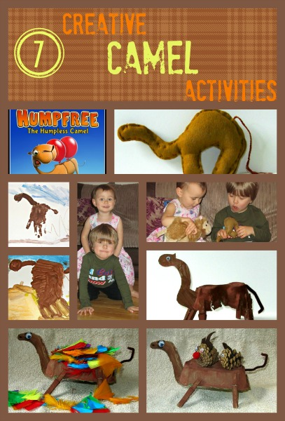 7 Creative Camel Activities for kids