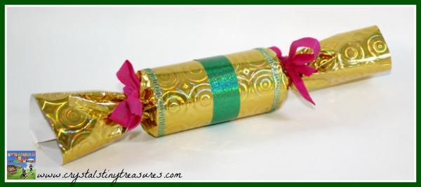 DIY Christmas Cracker, Home made Christmas ideas, Crystal's Tiny Treasures, photo
