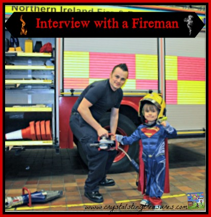 Interview with a firefighter