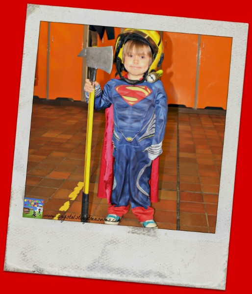 NI Firehall tour, community superheroes, photo