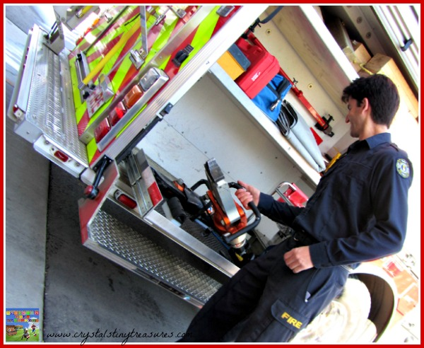The Jaws of Life, fire rescue equipment, photo
