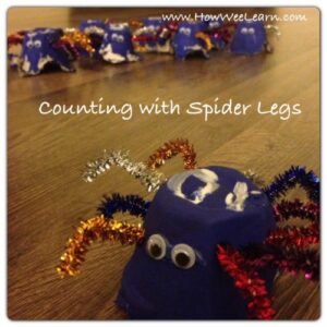 Spider-legs-counting-games