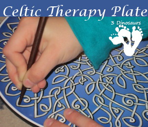 celtic therapy plate