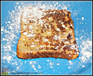Snowy French Toast Breakfast, recipes for Christmas, photo