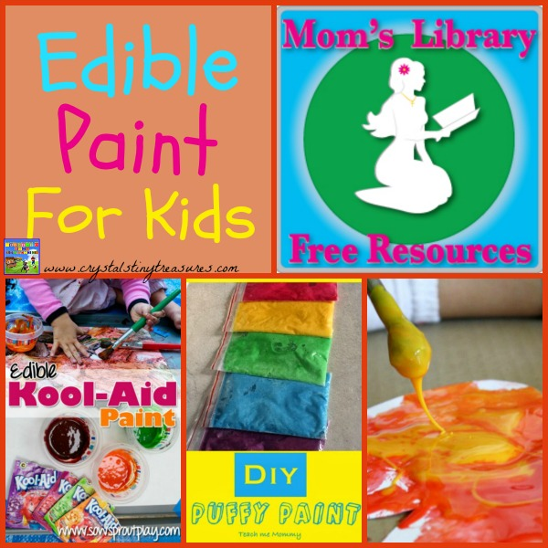 Edible Paint For Kids on