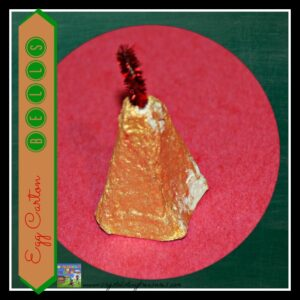 Egg Carton Bell by Crystal's Tiny Treasures