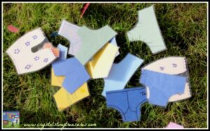 Fun underwear matching game for kids, book-inspired games for kids, photo