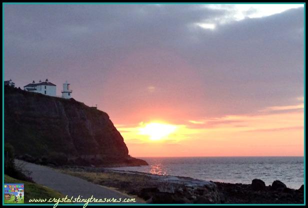 Blackhead path sunrise, Whitehead, Northern Ireland, photo