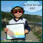 First art sale at age 5