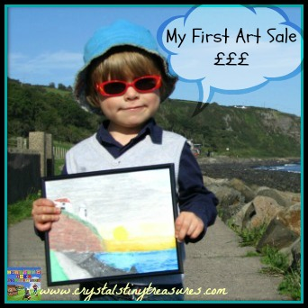 First Artwork Sold at Age 5