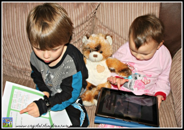 Learning to read in two languages, Crystal's Tiny Treasures, English-Japanese books for kids, photo