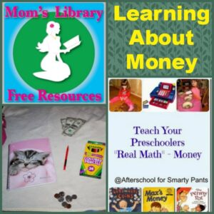 Learning about money on Mom's Library