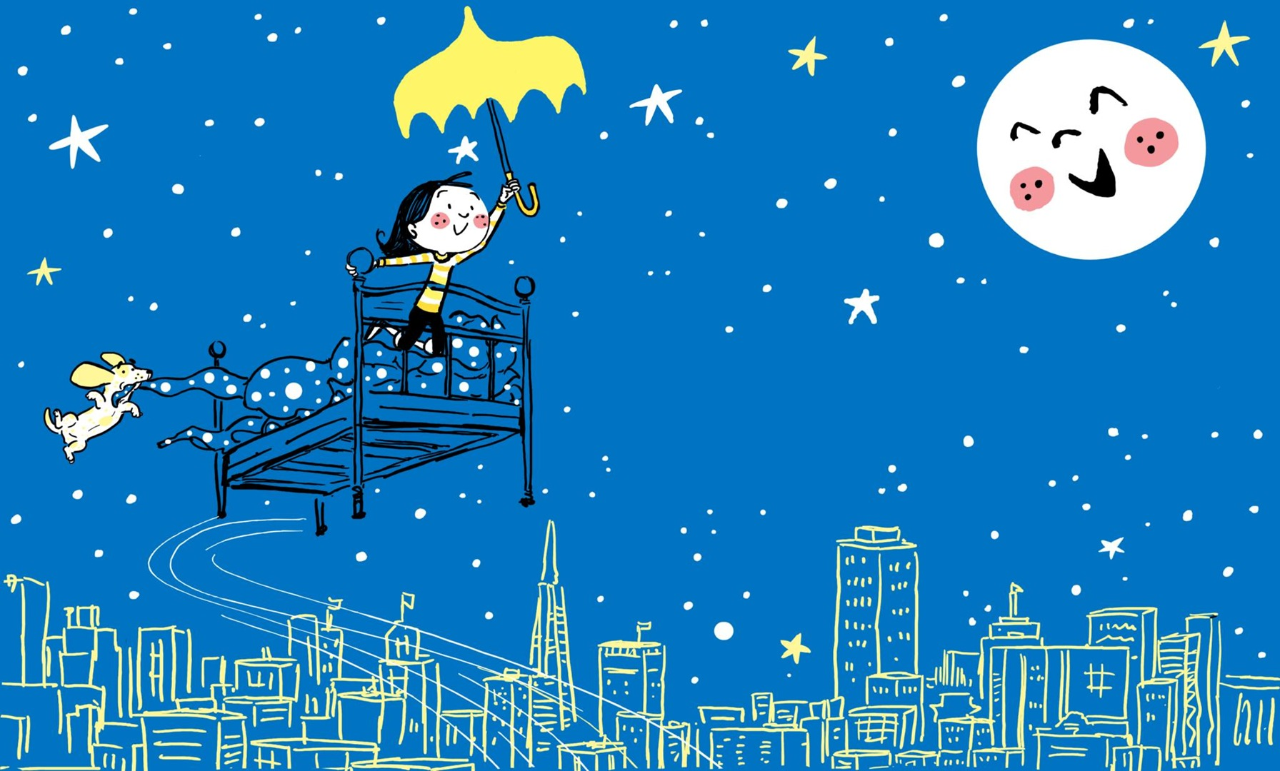 I dream of all of life's possibilities, My Yellow Umbrella by Chris Robertson, Review, photo