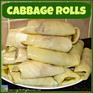 Cabbage Roll Recipe by Crystal's Tiny Treasures