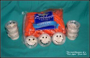 Snowmen veggie treats, photo