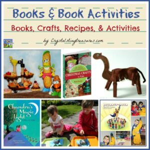 Book & Book Activities by Crystal's Tiny Treasures