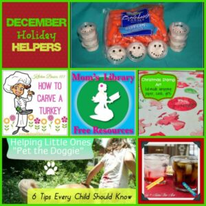 Dcember holiday helpers