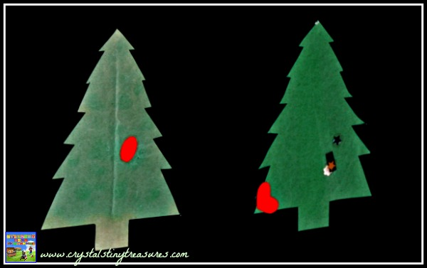 Christmas Tree Race Game for kids, Christmas learning games,  learning shapes, learning colours, photo