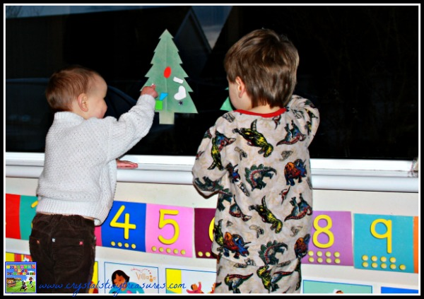 Christmas learning fun for kids, frugal Christmas games for kids, photo