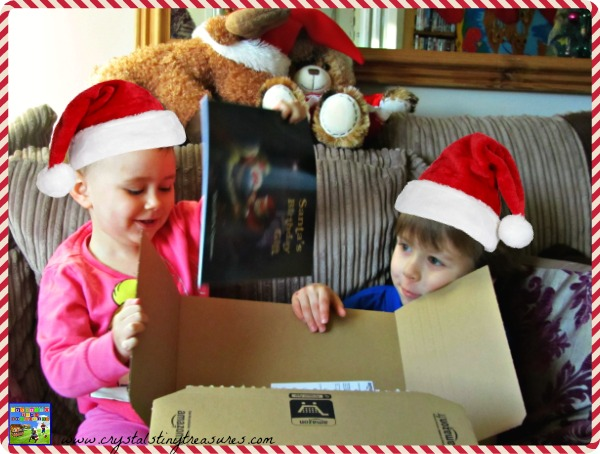 An early Christmas gift, Santa's Birthday Gift review, Crystal's Tiny Treasures, Christmas books for kids, photo