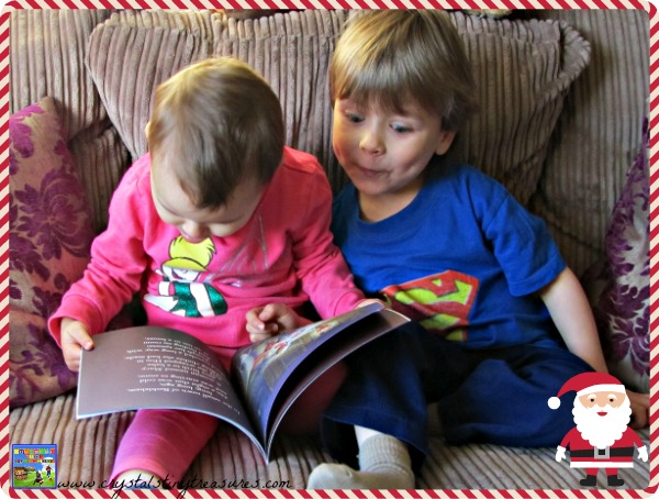 Christmas books for kids, Christmas book reviews, books about Santa, preschooler books, photo