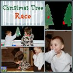 Christmas Tree Race Game for learning fun