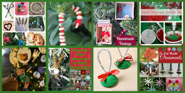 Kuid made Christmas Tree ornaments, Crystal's Tiny Treasures, Mom's Library, Christmas crafts for kids, photo