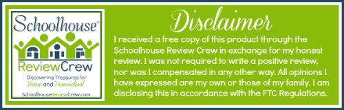 Schoolhouse Review Crew Disclaimer, photo