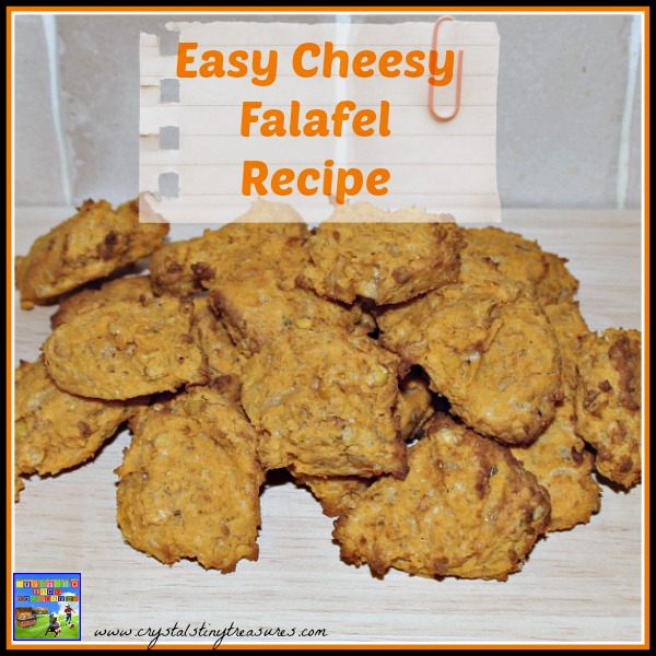 Easy Cheesy Falafels