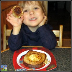 Hole In One (Egg in toast), photo