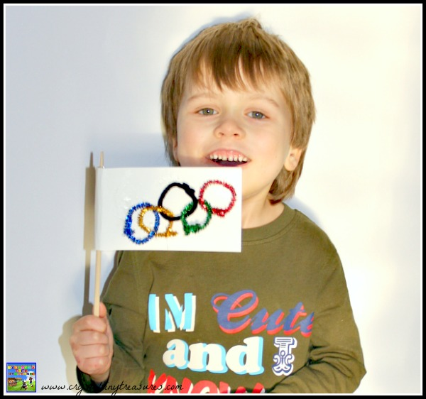 Olympic Flag Craft