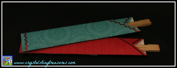 Chopstick covers, Japanese crafts for kids, New Year's crafts for kids, Crystal's Tiny Treasures, photo