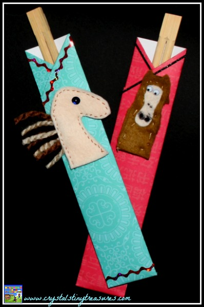 Chinese New Year Crafts for kids, Year of the Horse crafts for kids, Crystal's Tiny Treasures, photo