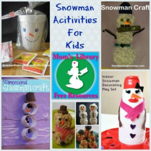 Snowman Crafts For Kids