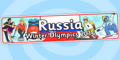 twinkl Resources Russian Winter Olympics