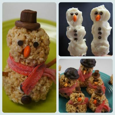 snowman treats, photo